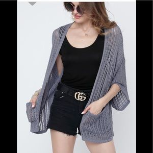 Sweaters - Knit pocket cardigan (COMING)